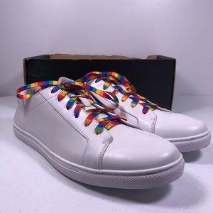 Kenneth Cole Kam Pride Rainbow Sneaker Shoes